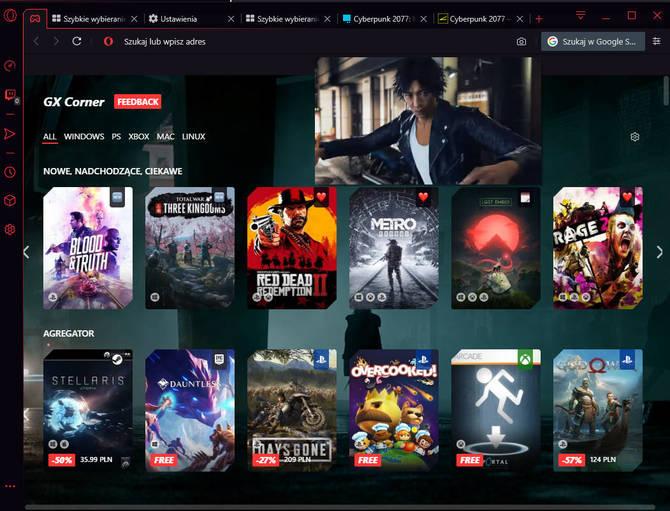 Opera GX - Test pierwszej przeglądarki internetowej dla graczy [6]