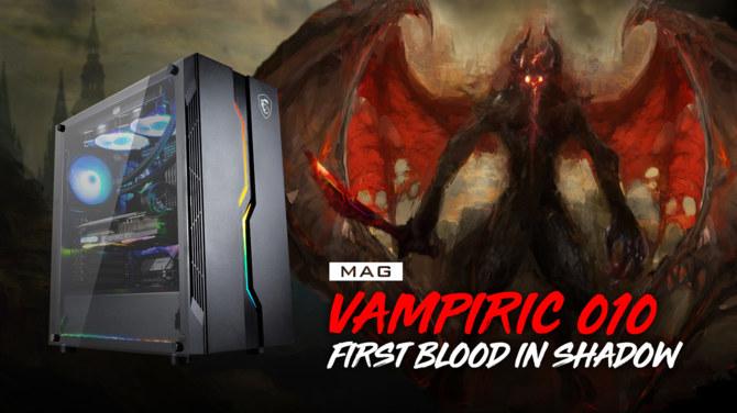 Test obudowy MSI MAG Vampiric 010 - Smok zionący chłodem [5]