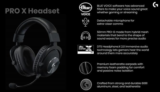 Test słuchawek Logitech G PRO X - mistrzostwo nie tylko esportowe [15]