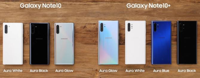 Samsung Galaxy Note 10 i Note 10+. Rewolucja w klasie biznes? [1]