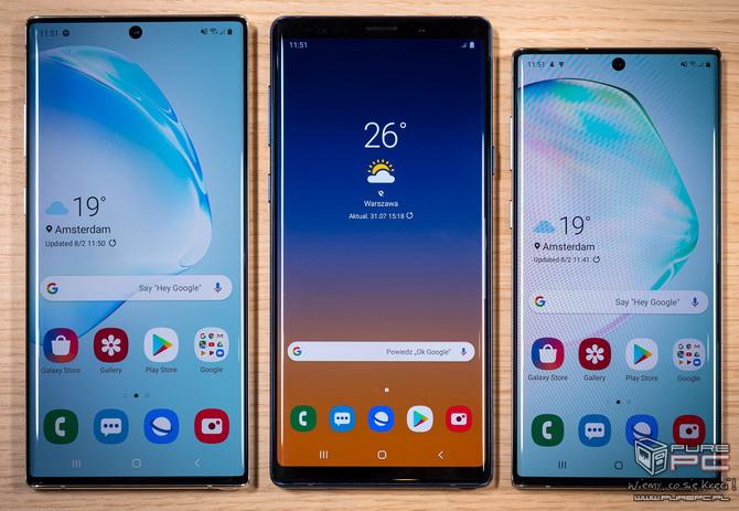Samsung Galaxy Note 10 i Note 10+. Rewolucja w klasie biznes? [nc1]