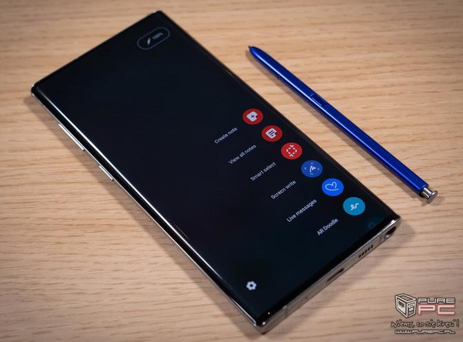 Samsung Galaxy Note 10 i Note 10+. Rewolucja w klasie biznes? [nc8]