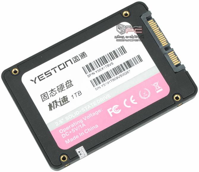 Yeston SSD 1TB SATA - Test dysku SSD z chińskiego sklepu [4]