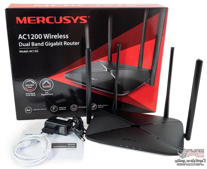 Mercusys AC12G - Test niedrogiego routera do domowego użytku [nc1]