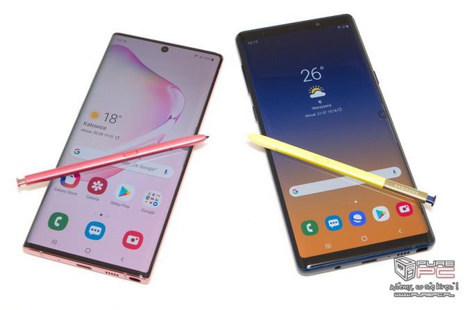 Samsung Galaxy Note 10 czy Note 9 - Który smartfon wybrać? [nc4]