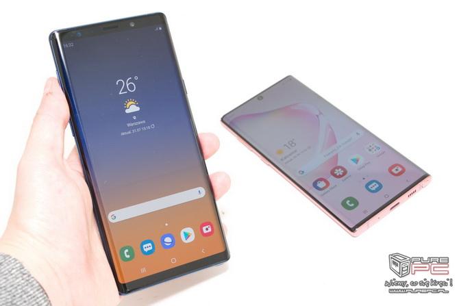 Samsung Galaxy Note 10 czy Note 9 - Który smartfon wybrać? [nc8]