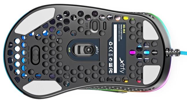 Test myszy Xtrfy M4 RGB - lepsza alternatywa dla Model O? [6]