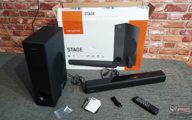 Creative Stage High Performance Monitor Sound Bar