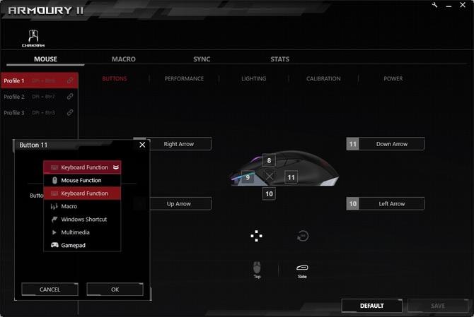 Test ASUS ROG Chakram: mysz z joystickiem w cenie mechanika [15]