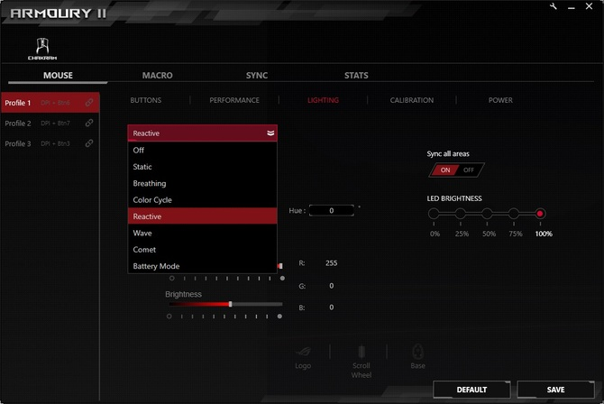 Test ASUS ROG Chakram: mysz z joystickiem w cenie mechanika [17]