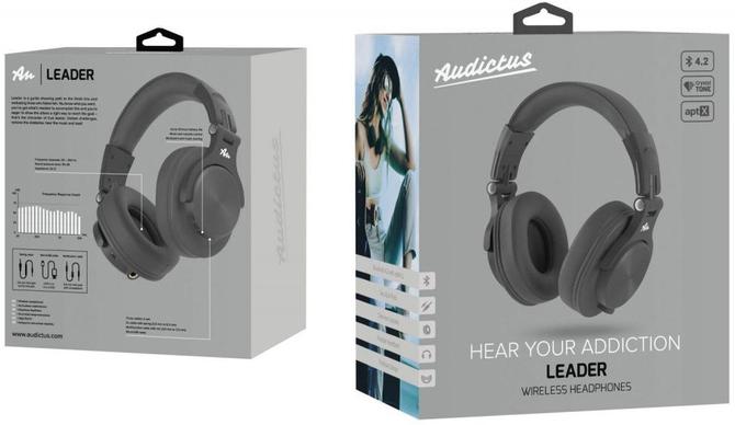 Test słuchawek Audictus Leader: niedrogo, bezprzewodowo, z klasą [1]