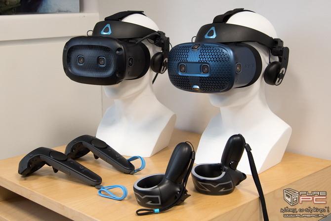 HTC Vive Cosmos – Modułowe gogle VR w wersji do pracy i zabawy [nc2]