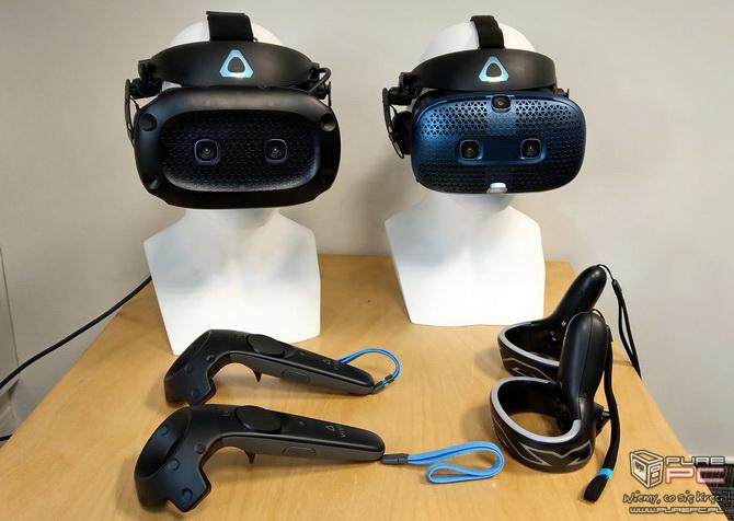 HTC Vive Cosmos – Modułowe gogle VR w wersji do pracy i zabawy [nc6]