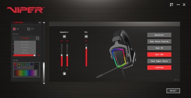 Test Patriot Viper V380 - headset 7.1 preferujący ostre brzmienie [14]
