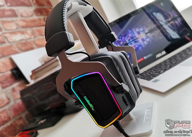 Test Patriot Viper V380 - headset 7.1 preferujący ostre brzmienie [9]