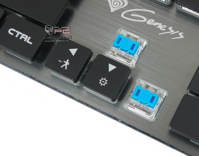 Test klawiatury Genesis Thor 420 RGB - Niskoprofilowy mechanik [nc2]