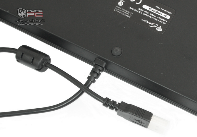 Test klawiatury Genesis Thor 420 RGB - Niskoprofilowy mechanik [nc5]