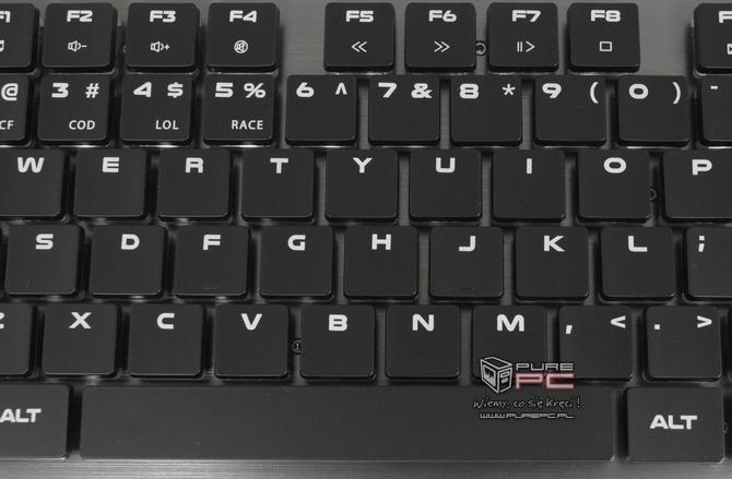 Test klawiatury Genesis Thor 420 RGB - Niskoprofilowy mechanik [nc6]