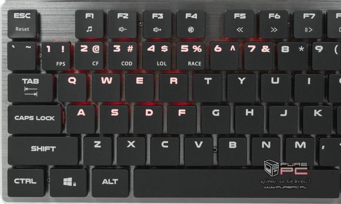 Test klawiatury Genesis Thor 420 RGB - Niskoprofilowy mechanik [nc7]