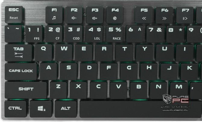 Test klawiatury Genesis Thor 420 RGB - Niskoprofilowy mechanik [nc8]
