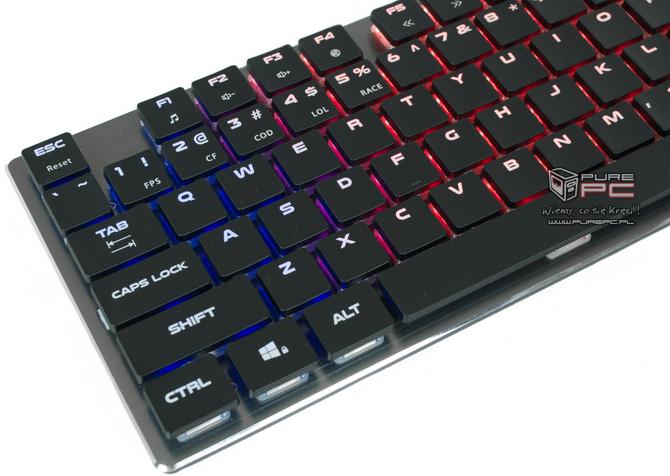 Test klawiatury Genesis Thor 420 RGB - Niskoprofilowy mechanik [nc10]