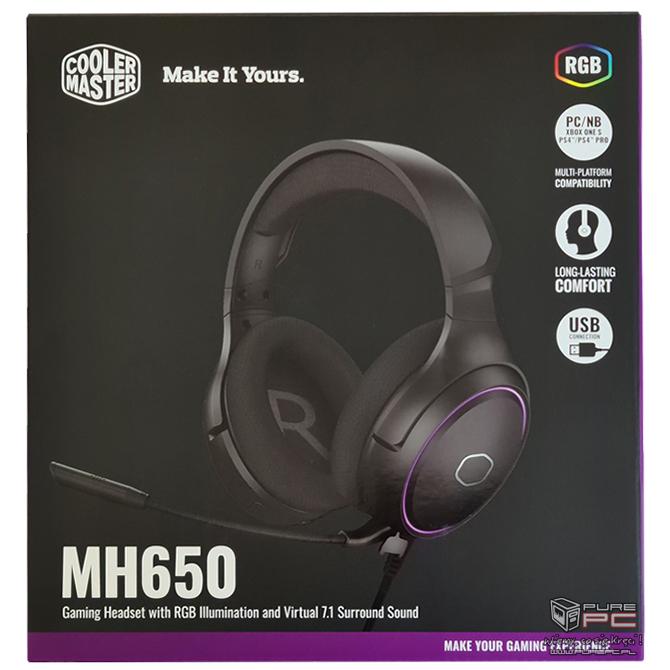 Test słuchawek Cooler Master MH650 - tkanina, wygoda, gaming [2]