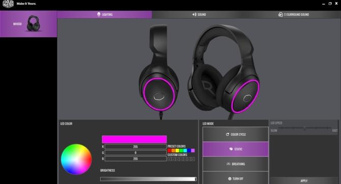 Test słuchawek Cooler Master MH650 - tkanina, wygoda, gaming [13]