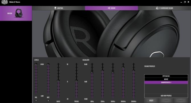 Test słuchawek Cooler Master MH650 - tkanina, wygoda, gaming [14]