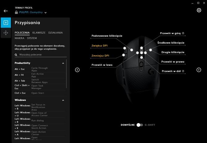 Test myszy Logitech G604: ergonomiczne granie bez cienia LEDów [12]