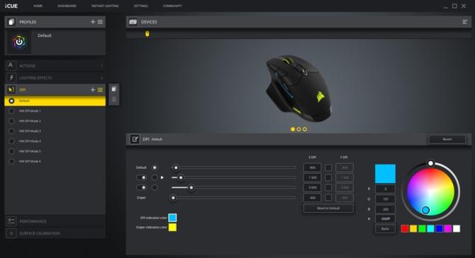Corsair Dark Core RGB Pro - Test bezprzewodowej myszki dla graczy [14]