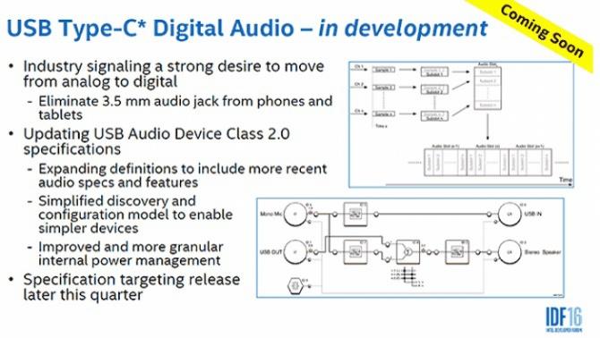 Intel chce zastąpić gniazda mini jack portem USB typu C [1]