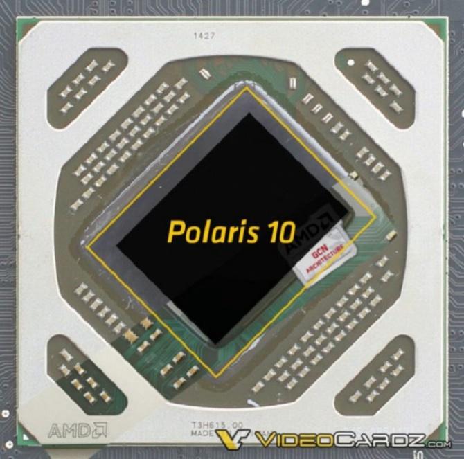 AMD Polaris 10 i 11 - pierwsze obrazy ukazujące nowe rdzenie [1]