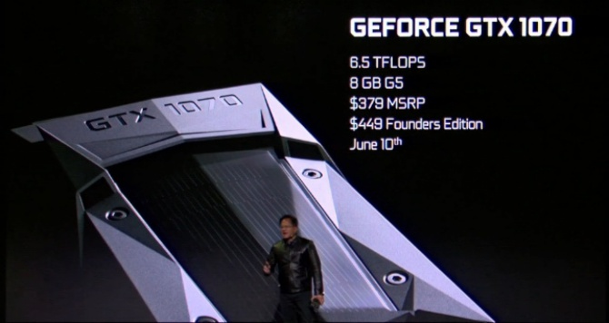 GeForce GTX 1070 - Wydajność GTX Titan X za 379 dolarów! [1]