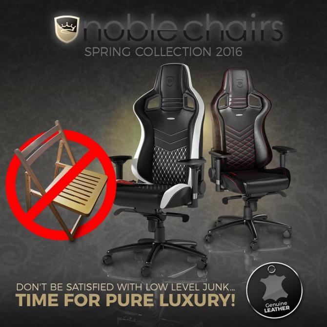 NobleChairs - Nowy producent foteli dla graczy wchodzi na ry [1]