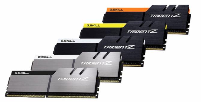 Pamięci DDR4 G.Skill Trident Z dostępne w nowych kolorach [1]
