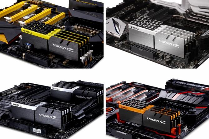 Pamięci DDR4 G.Skill Trident Z dostępne w nowych kolorach [2]
