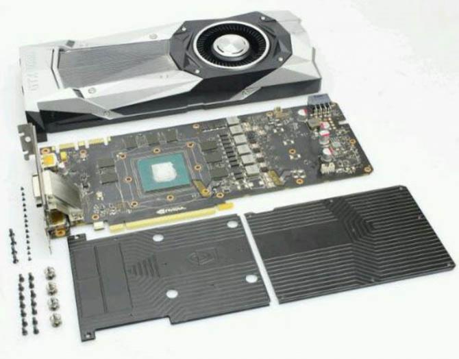 NVIDIA GeForce GTX 1080 rozebrane na czynniki pierwsze [1]