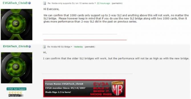 NVIDIA mostki SLI dla GeForce GTX 1080. Będzie tylko 2-Way [2]