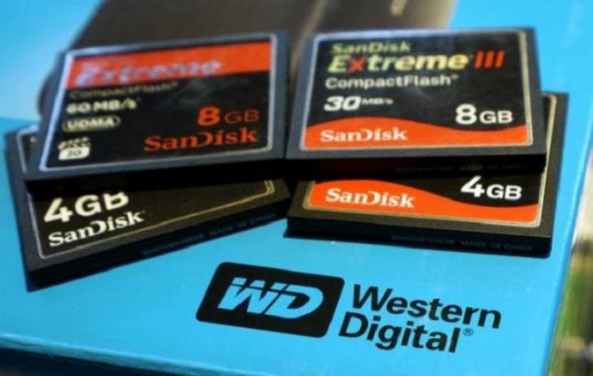 Western Digital przejmuje firmę SanDisk za 19 mld dolarów [1]