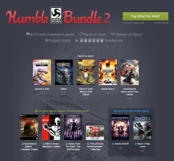 Humble Deep Silver Bundle 2 - Paczka fajnych gier za dolara [1]