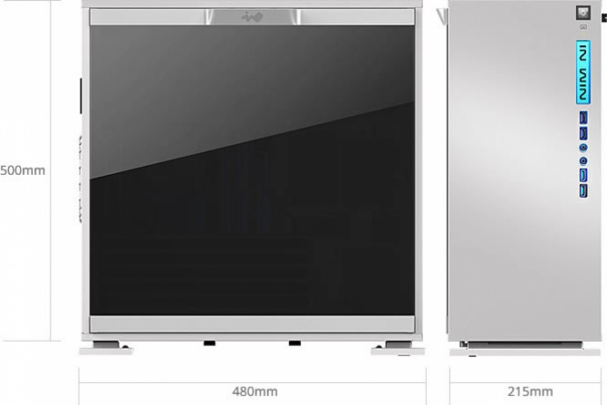 In Win 303 – Stylowe obudowy z oknem z hartowanego szkła [5]