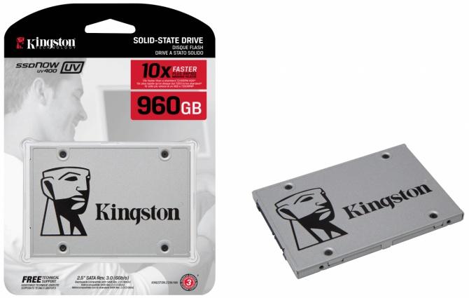 Kingston UV400 - Odświeżona seria tanich dysków SSD [2]