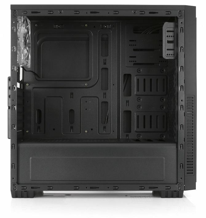 SilentiumPC Regnum RG1W Pure Black - tania obudowa z oknem [6]