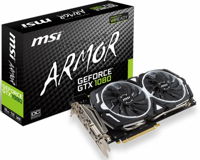 MSI prezentuje sześć niereferencyjnych wersji GeForce GTX 10 [3]