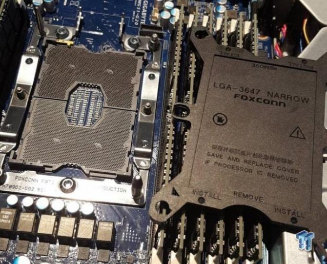 Procesory Intel Skylake-E z nową podstawką LGA 3647? [1]