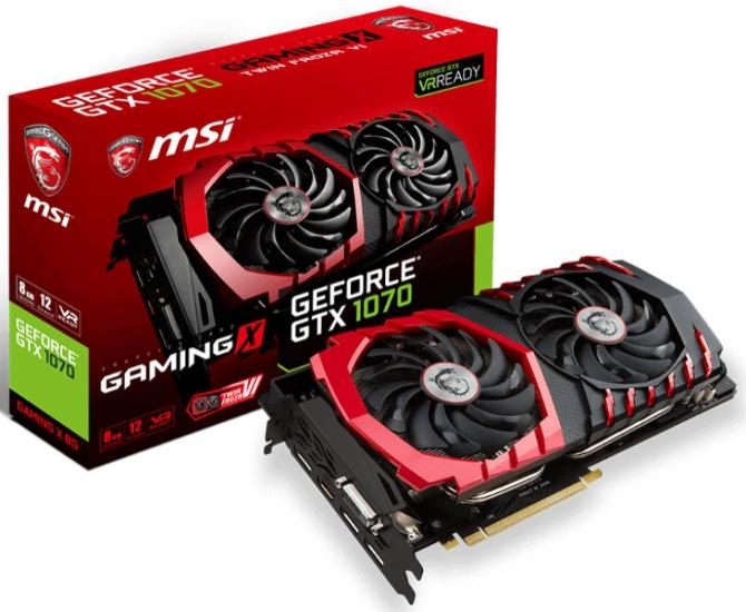 MSI GeForce GTX 1070 - Będą trzy niereferencyjne wersje [1]