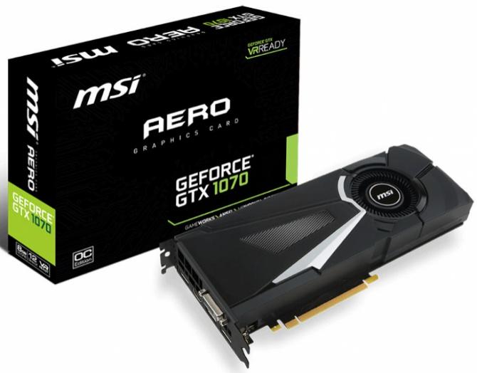 MSI GeForce GTX 1070 - Będą trzy niereferencyjne wersje [3]