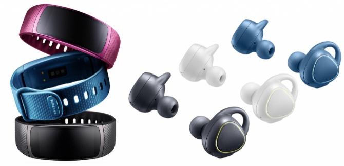 Samsung wprowadza opaskę Gear Fit2 i słuchawki Gear IconX [2]