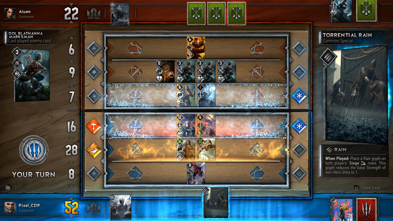 how to play gwent on mobile