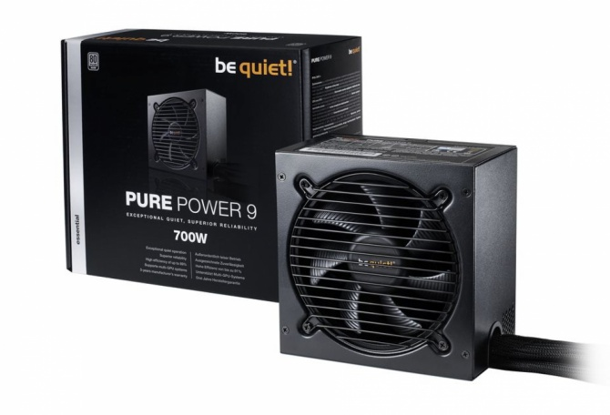 Be Quiet! Pure Power 9 - Nowa seria zasilaczy o mocach 300-7 [1]